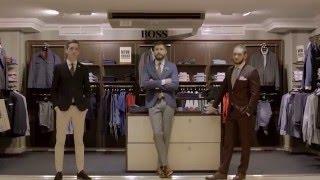 Новые коллекции мужских костюмов в ЦУМе