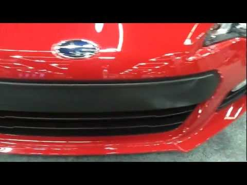 Subaru BRZ walk around and close up look – PDX Auto Show