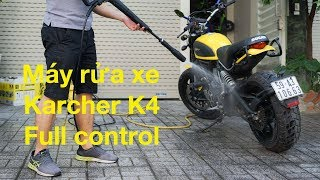 Trên tay Karcher K4 Full Control: Mô tơ brushless, rửa xe ngon