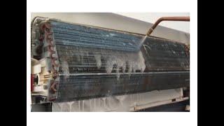 حل مشكل خروج هواء حار ورائحة كريهة من مكيف الهواء