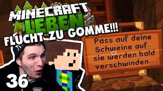 WIR SIND IN GEFAHR! - FLUCHT ZU GOMME MIT EDGAR! ✪ Minecraft LEBEN #36 | Paluten