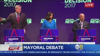 Issues And Insults Mark Mayoral Debate