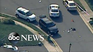 Manhunt underway after cop killed in line of duty