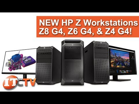 NEW HP Z Workstations - Z8, Z6, and Z4 G4! - YouTube