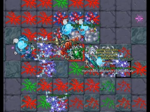 Mazzinor Boss - Tibia (The Secret Library Quest)