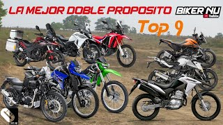 Top 9 La MEJOR Moto DOBLE PROPOSITO 250 - 400 CC [Off road]