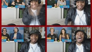 GUESS THAT MOVIE CHALLENGE SUPERHEROES! (ft FBE Staff) REACTION!!!