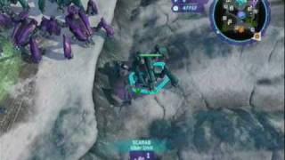 Halo Wars 32 Vultures Vs 8 Scarabs