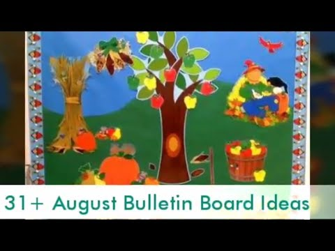 Beautiful August Bulletin Board Ideas Youve Never Seen Before