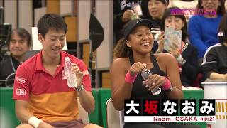 Naomi Osaka at Evert Tennis Academy ! By WOWOW TV Japan