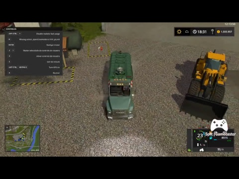 [Live] Mining & Construction Economy  New truck for loading water, fuel and tar.