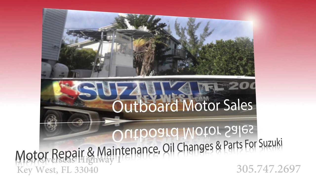 suzuki outboard motor sales and service in key west | suzuki key