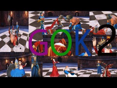 NEW BATTLE CHESS GOK BLUE VS RED 2 FULL SHORT MOVIE