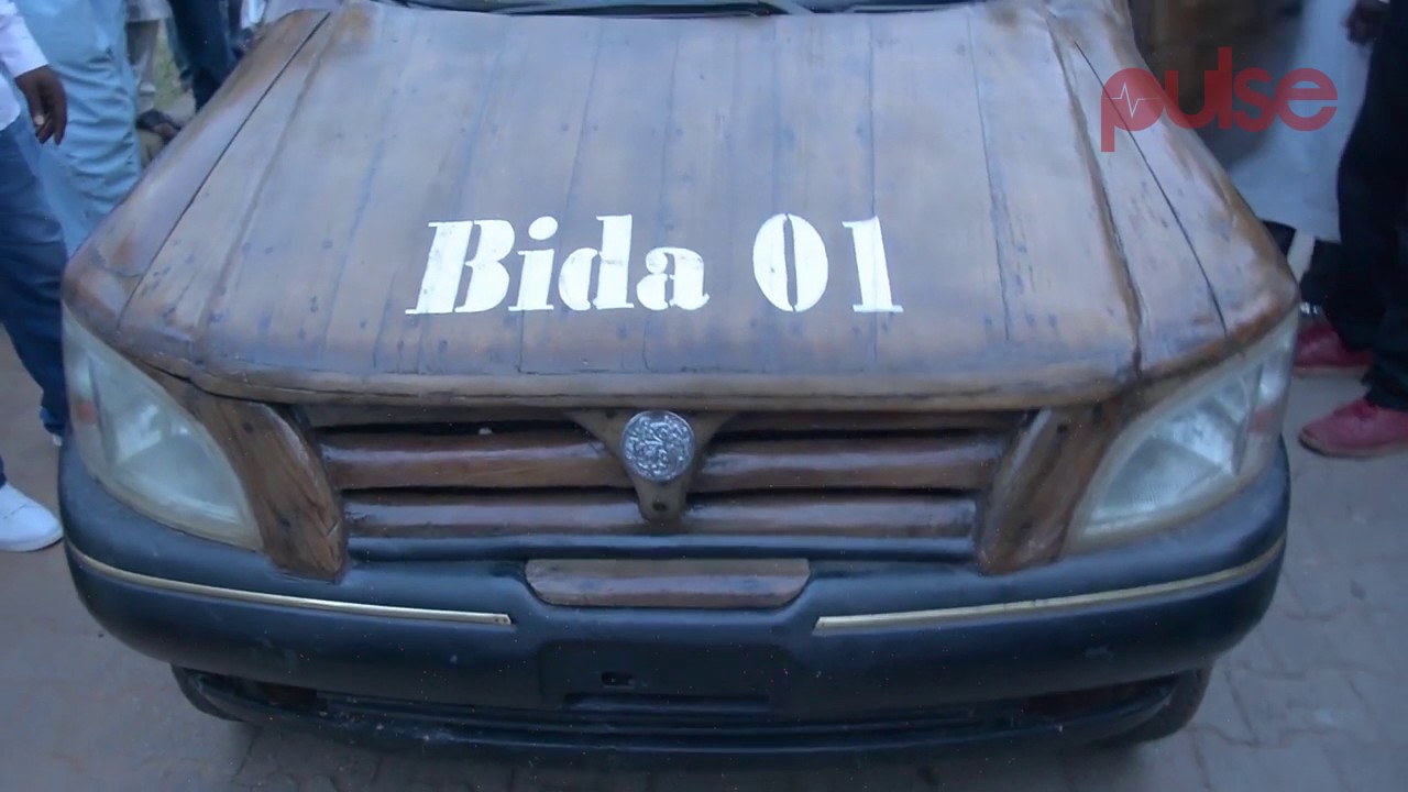 Convertible Wooden Car Built by a Nigerian Can Manage Fuel | Pulse TV Feature