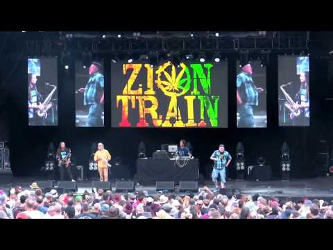 Zion Train perform at Beautiful Days Festival 2017