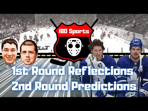 NHL- 1st Round Reflections, 2nd Round Predictions