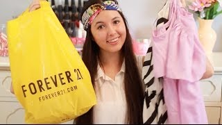 Spring Clothing Haul! Forever 21, H&M, & Ross! Thumbnail