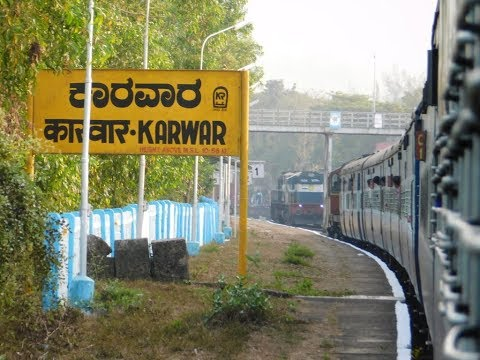 Madgaon To Mangalore : Full Train Journey : Madgaon - Mangalore Intercity Express : Konkan Railways