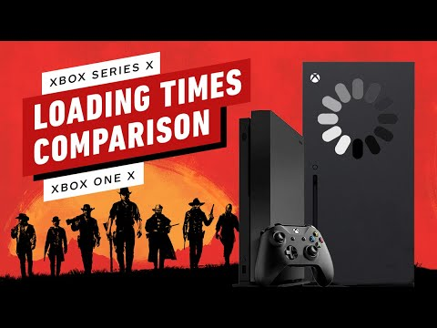 Xbox Series X Game Load Times Compared to Xbox One X