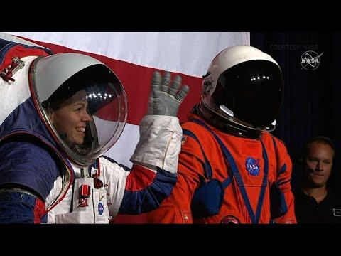 NASA unveils new spacesuits for Artemis program