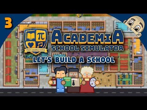 ACADEMIA: School Simulator - Ep. 3 - FINAL EXAMS! - School Tycoon Simulator
