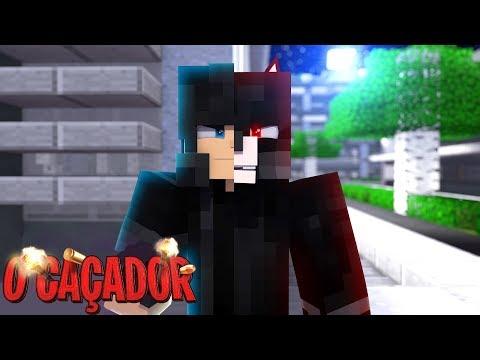 Minecraft: O CAÇADOR - VIREI UM LOBISOMEM!!!! EP: 04