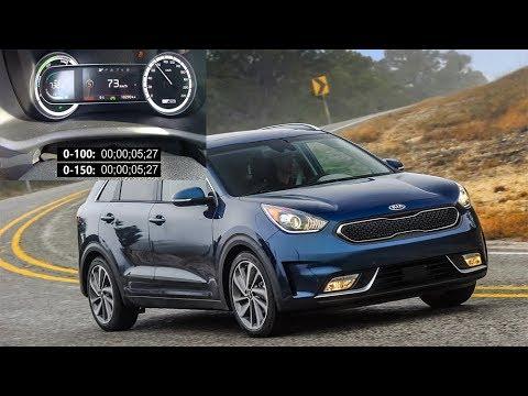 Kia Niro Hybrid Acceleration Braking Test 0 100