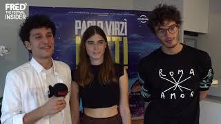 NOTTI MAGICHE - Il cast - Festa del cinema di Roma