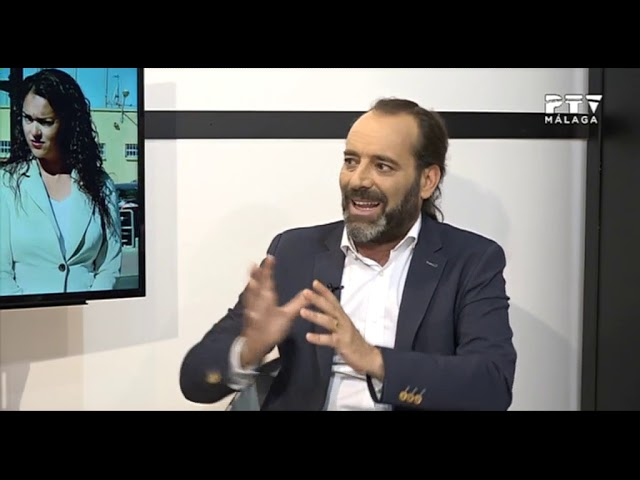 David Morales entrevista a Juan Cassá como candidato a la alcaldía de Málaga