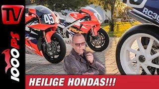 Unglaublicher Fund! - Honda V4 Racing - RC 30, RC 45, RC 15 - Mensch und Maschine