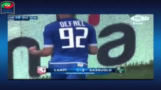 Video Gol Pertandingan Carpi vs Sassuolo