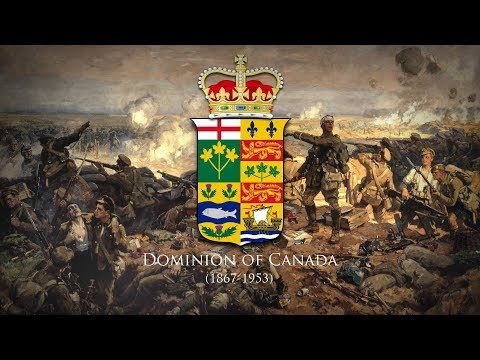 """Dominion of Canada (1867-1953) National Anthem """"The Maple Leaf Forever"""" (March Version)"""