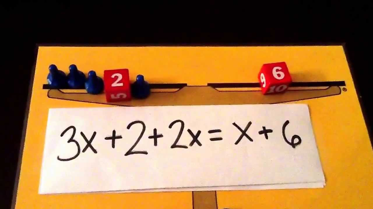 worksheet Hands On Equations Worksheets hands on equations lessons 3 and 4 youtube 4