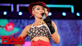 Lacey Evans provokes Charlotte Flair Raw June 3 2019