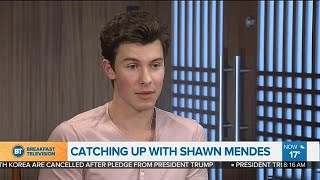 Catching up with Shawn Mendes
