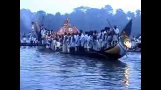 Thiruvonathoni Arrival Aranmula [Vanchipattu background]