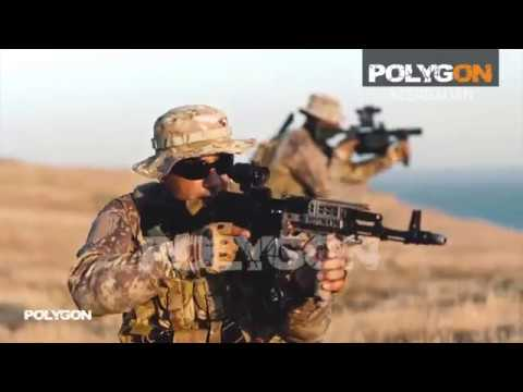 EUROSATORY 2018 MDI AZ. Azerbaijan army / Special Forces