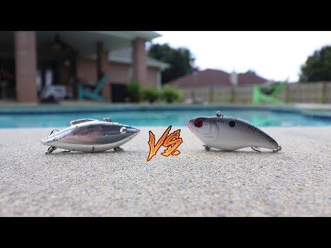 Rat-L-Trap Vs Lipless Crankbait (WHICH IS BEST)