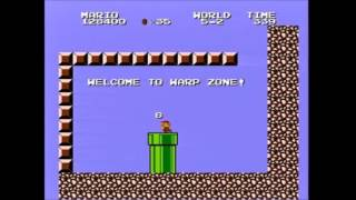 (8:12.9 w/out loads) Super Mario Bros. 2: The Lost Levels any% 8-4