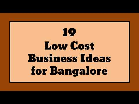 19 Low Cost Business Ideas for Bangalore   Sameer Gudhate
