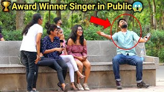 🏆Award Winner Singer Singing in Public Prank😱😂 (Part-2) by PrankBuzz
