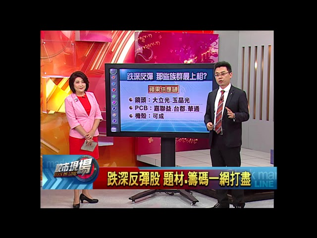 【股市現場-非凡商業台鄭明娟主持】20180508part.3(許博傑)