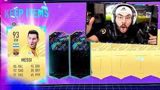 MESSI & FUTURE STAR IN SAME PACK!! WTF!! FIFA 21