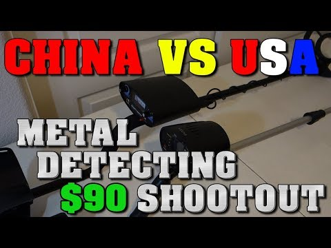Metal Detecting: CHINA VS USA - Intey VS Bounty Hunter