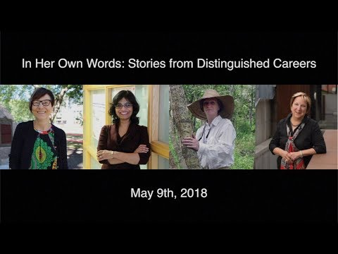 In Her Own Words 2018: Stories from Distinguished Careers