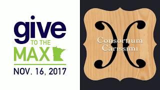 Consortium Carissimi GiveMN 2017