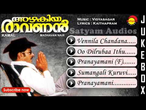 Azhakiyaravanan | Malayalam Film | Full Audio Jukebox | Mammootty | Bhanupriya