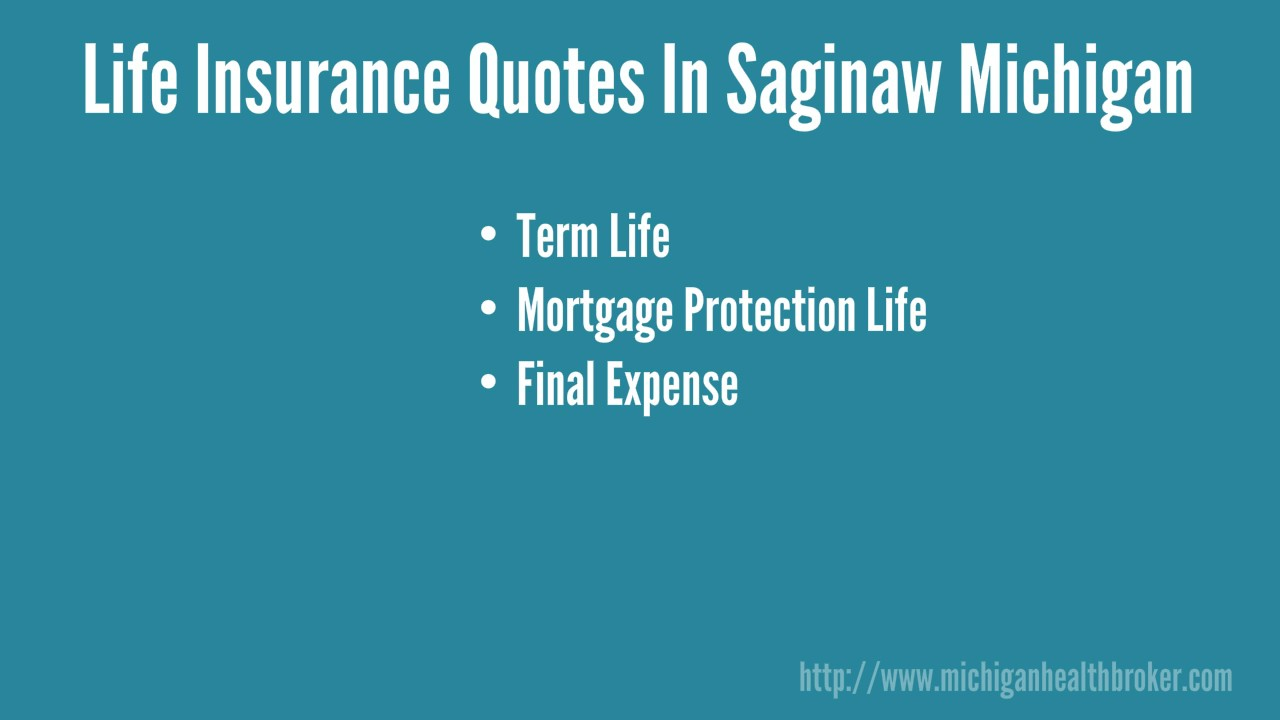Mortgage Life Insurance Quote Life Insurance Quotes In Saginaw Mi  5866049669  Youtube