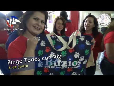 AMIGOS DE LA CUECA BINGO TODOS CON VIVI 2019