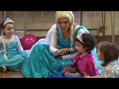 "Elif's 4th ""Frozen"" birthday Party"